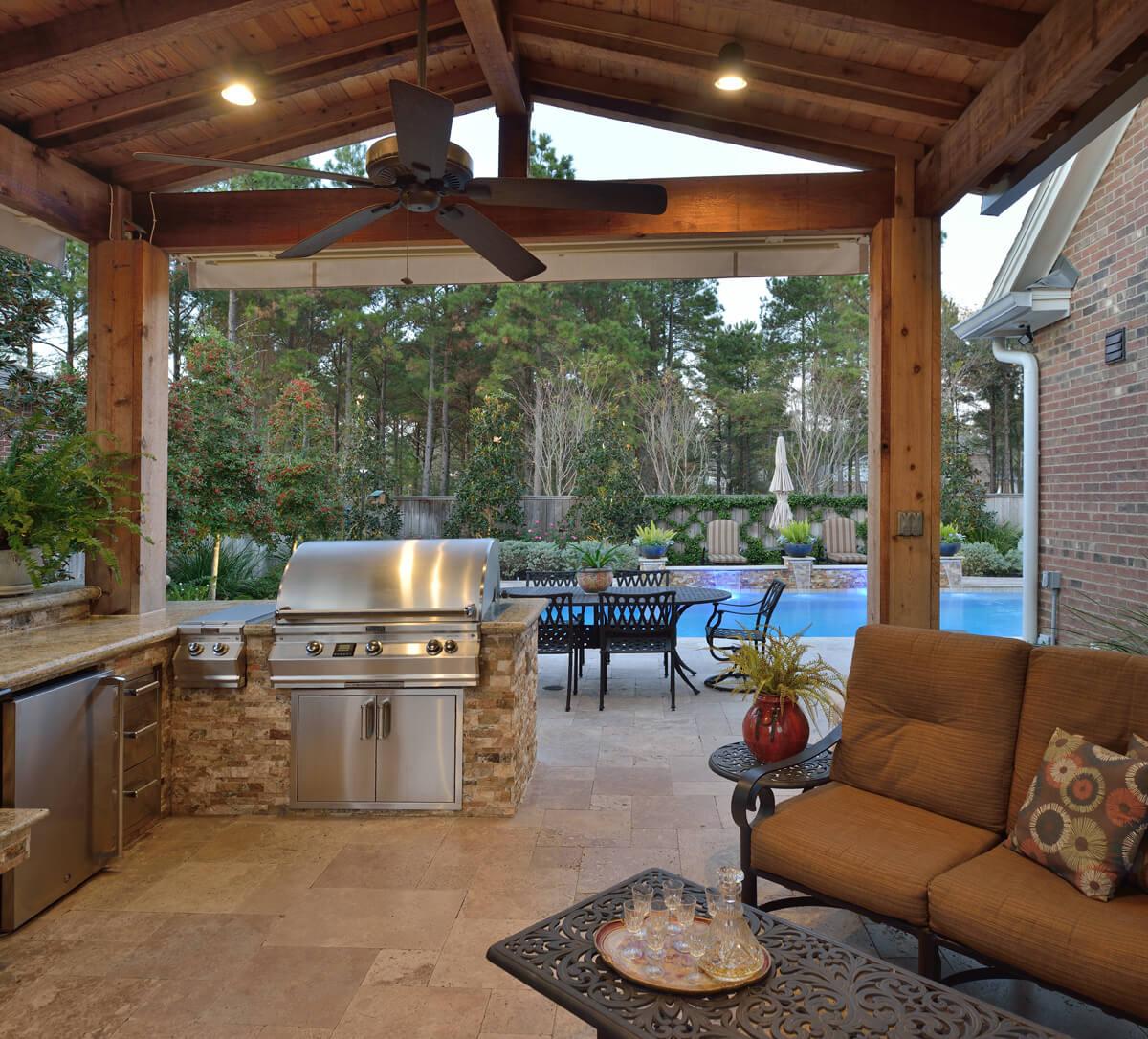 Residential Exterior Services: Residential Outdoor Living Portfolio