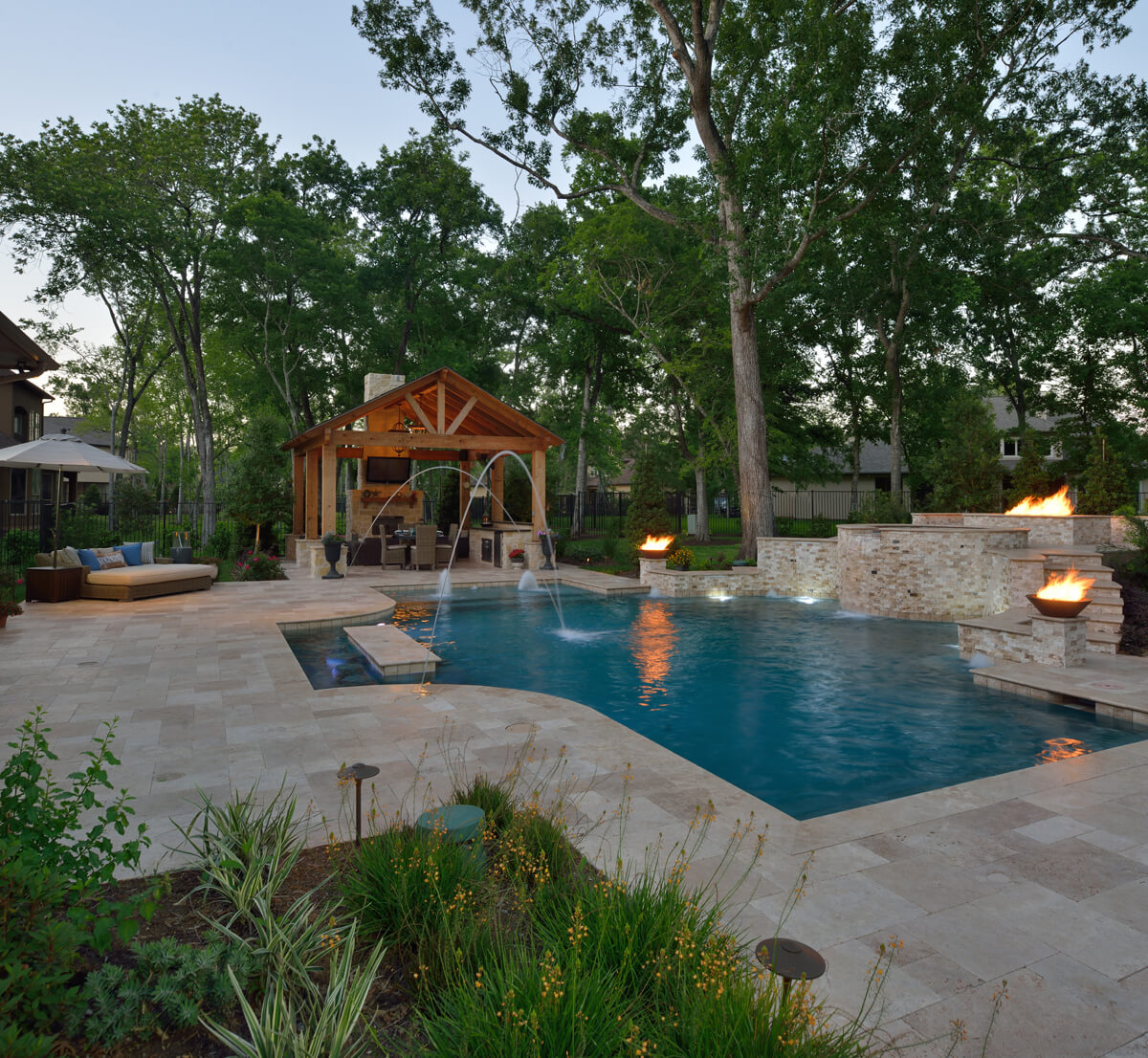 Backyard Retreat Outdoor Elements