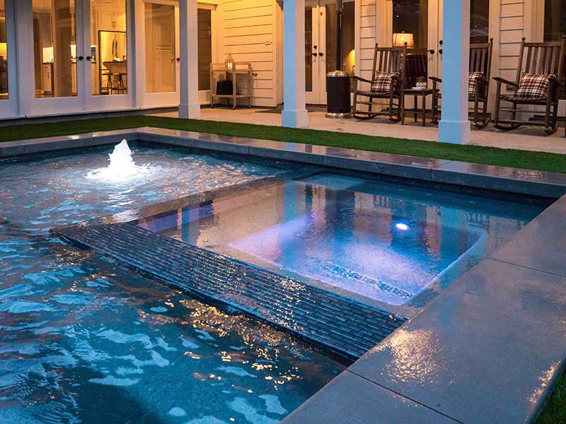 Houston-pool-builder -residential-custom-pool-Outdoor-Elements