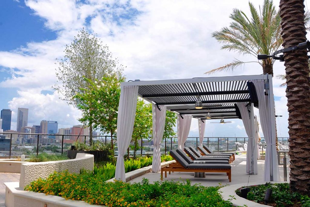 commercial outdoor covered patio by Outdoor Elements