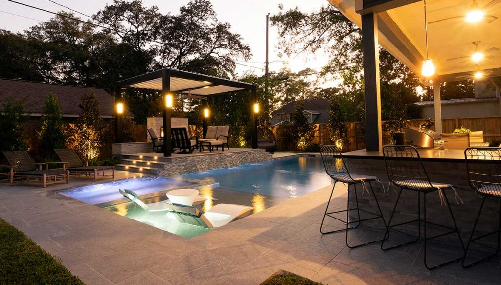 Outdoor Elements custom pools and outdoor living spaces